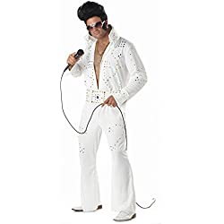 California Costumes 01630 - Disfraz De Elvis Leyenda Del Rock Para Hombre Talla Plus 4XL - 5XL EU