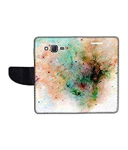 KolorEdge Printed Flip Cover For Samsung Galaxy On7 Multicolor - (1479-55KeMLogo10037SamOn7)