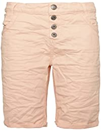 Urban Surface Damen Bermuda Shorts   Bequeme Kurze Stoffhose aus  Stretch-Twill - Loose Fit 30f092a6d9