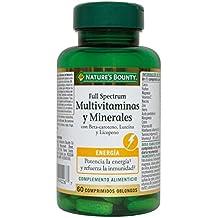 Natures Bounty Full Spectrum Multivitaminas y Minerales - 60 Comprimidos