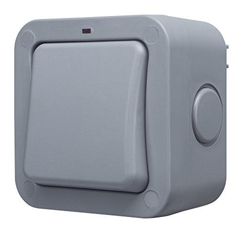 Masterplug WP30 20A - Interruttore per esterni impermeabile, grado di protezione IP66