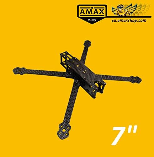 AMAXinno Freestyle7 (270mm) 7 Zoll Long Range FPV Racing Carbon Frame Drohne Rahmen