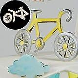 display08 Bicolore Ruota Bicicletta Stampo Cottura Pasticceria Fondente Torta al Cioccolato Strumento di Decorazione-Bianco