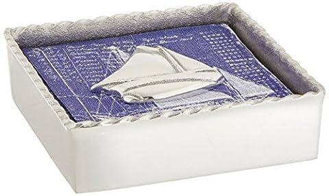 Mariposa Sailboat Twist Napkin Box