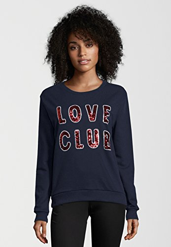 CATWALK JUNKIE Damen Sweatshirt LOVE CLUB Midnight