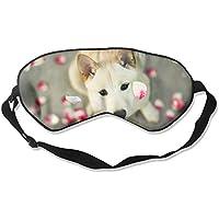 Eye Mask Eyeshade Dog Face Picture Sleeping Mask Blindfold Eyepatch Adjustable Head Strap preisvergleich bei billige-tabletten.eu