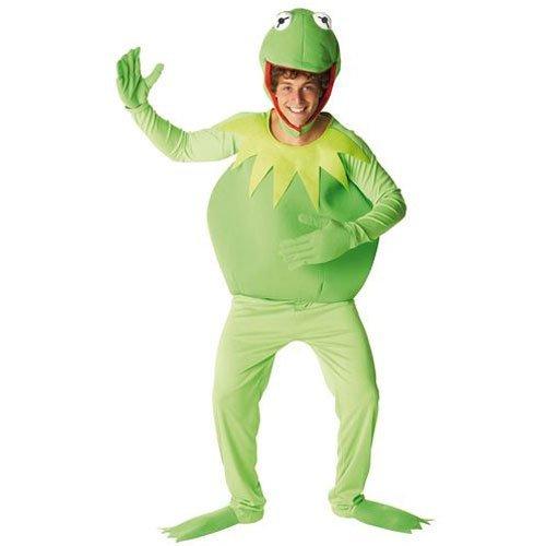 Rubie's Kermit-Kostüm Muppets Show für Herren -