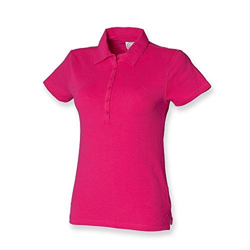 Skinni Fit -Camicia Donna Rosa