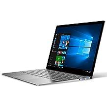 """(2018 Nueva actualización) CHUWI LapBook Air-Ordenador Portátil-hasta 2.2 GHz Ultrabook Intel Celeron N3450 Blanco, (14.1 """"FHD pantalla, 1920x1080P) Portátil metálico con pegatinas del teclado español (Windows 10,8GB RAM,ROM 128GB)"""