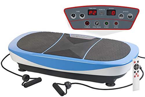 newgen medicals Vibrationsboard: Vibrationsplatte mit vertikaler & horizontaler Schwingung, bis 150 kg (Fitness-Vibrationsplatte)