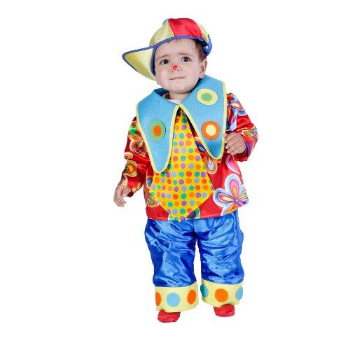 's Costume 'Clown Boy'(18 Monate) (Nine D's Kostüm)