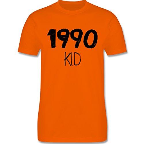 Geburtstag - 1990 KID - Herren Premium T-Shirt Orange