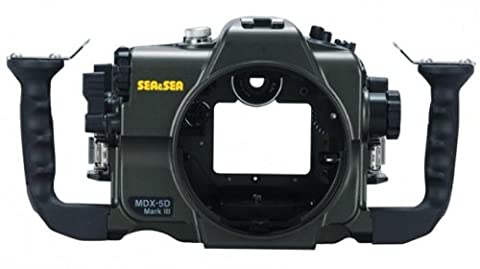 Sea and Sea MDX-5DMKIII Housing for Canon EOS 5DMKIII with Sync Cord 2-Pin Connector