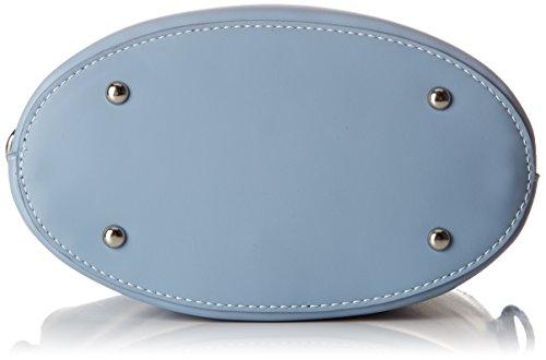 David Jones - 5763-1, Borse a tracolla Donna Blu (Pale Blue)