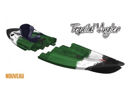 Point 65Tequila Angler Solo Kayak modulable