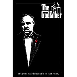 Godfather, The - Rose - Filmposter Kino Movie Marlon Brando Der Pate - Grösse 61x91,5 cm + 1 Ü-Poster der Grösse 61x91,5cm