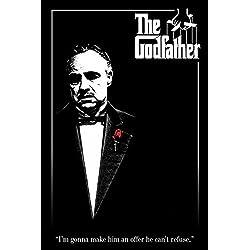 Godfather, The - Rose - Filmposter Kino Movie Marlon Brando Der Pate - Grösse 61x91,5 cm + 1 Ü-Poster der Grösse 61x91,5cm