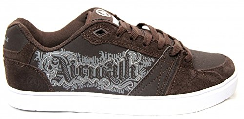 airwalk-skateboard-schuhe-bos-jr-brown-sneakers-shoes-shoe-size37