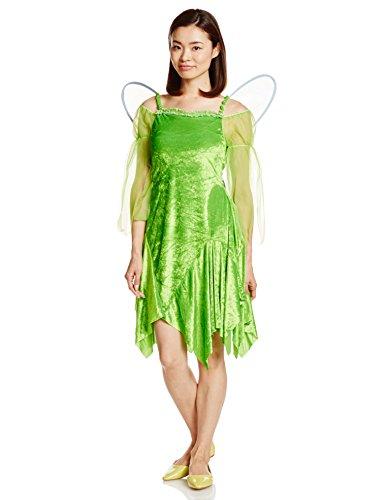 Disney Peter Pan Tinkerbell-Kostuem-Damen 155cm-165cm (Disney Kostüme Pan Peter Dame)