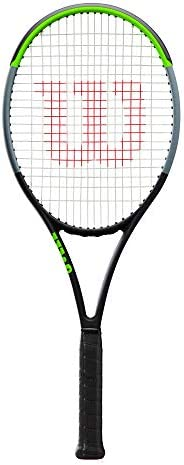Wilson Unisex Adult 2-WR014110U1 Blade 00ul V 7.0 Tennis Racket - Black/Green/Grey, Grip 1