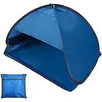 Lixada Portátil Mini Beach Sun Shade Canopy Refugio de Tienda de Playa al Aire Libre Instantáneo con Estuche