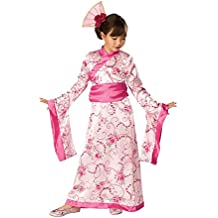 Rubies - Disfraz de geisha para niña