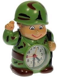Depertador Soldado de Camuflaje