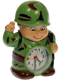 10957 | Depertador Soldado de Camuflaje Alarma