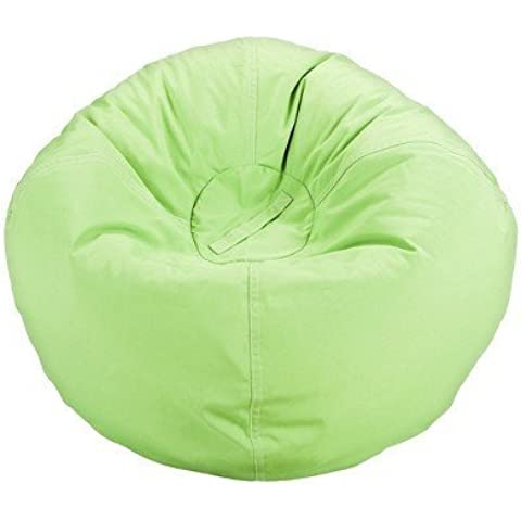 Ace Bayou Boys' Bean Bag - Green - Bag Chairs for Kids and Teens - Bedroom and Living room Accessories - Home Collection - Great for reading, playing video games, watching TV and relaxing. by ACE BAYOU - Ace Bayou Bean Bag