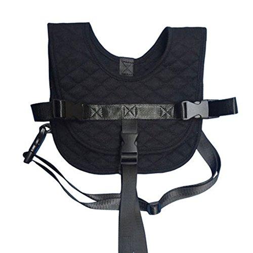Preisvergleich Produktbild Baby Sicherheitsweste Flug Zug Auto Sicherheitsweste Portable Hochstuhl Warenkorb Sicherheitsgurt Strap (Schwarz)