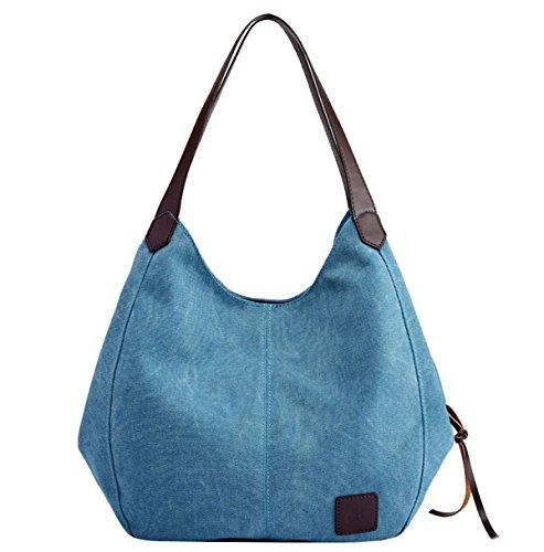 Super Modern, Borsa a mano donna 28cm*13cm*30cm Grigio Grey 28cm*13cm*30cm Blue