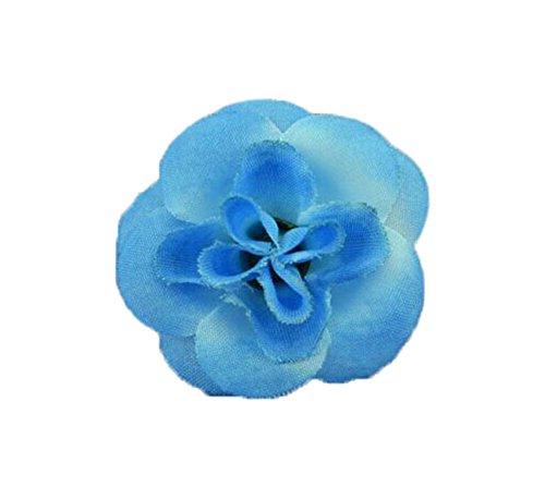 4 morceaux de bijoux faits à la main mignonne Bague petite rose bleu réglable
