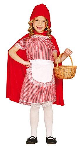 Rotkäppchen - Kostüm für Mädchen Gr. 110 - 146, ()