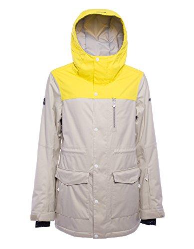 Zimtstern Damen Zadica Snow Jacket, Sand Twotone, XS