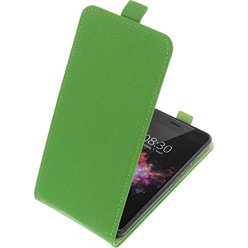 foto-kontor Tasche für TP-Link Neffos X1 Max Smartphone Flipstyle Schutz Hülle grün