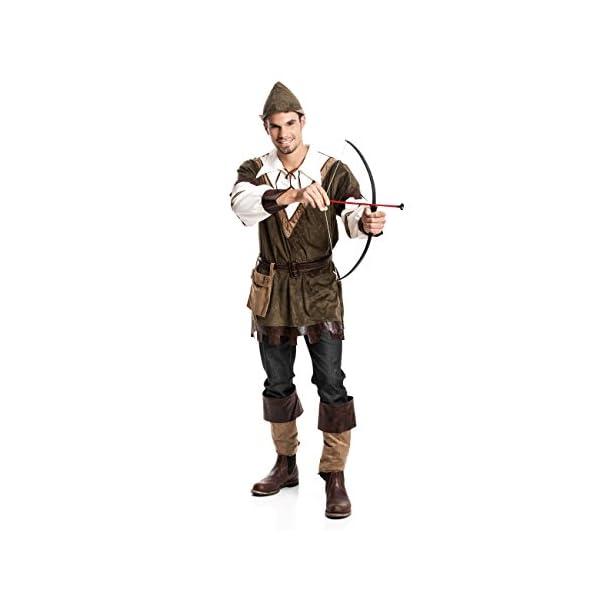 Kostumplanet Robin Hood Kostum Herren Faschings Kostum Mittelalter
