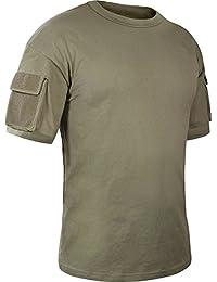 T-shirt tactique Mil-Tec vert