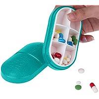 Zuionk 6 Teile Pille Travel Box Tablet Halter Medizin Dispenser Organizer Lagerung Tablettenteiler & Mörser preisvergleich bei billige-tabletten.eu
