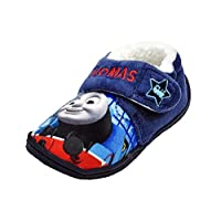 Thomas The Tank Engine Slippers - Easy Wear Touch Fastening