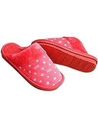 RKPM Delux Autumn and Winter Cotton Stars Slippers Non-Slip Unisex Home Slippers