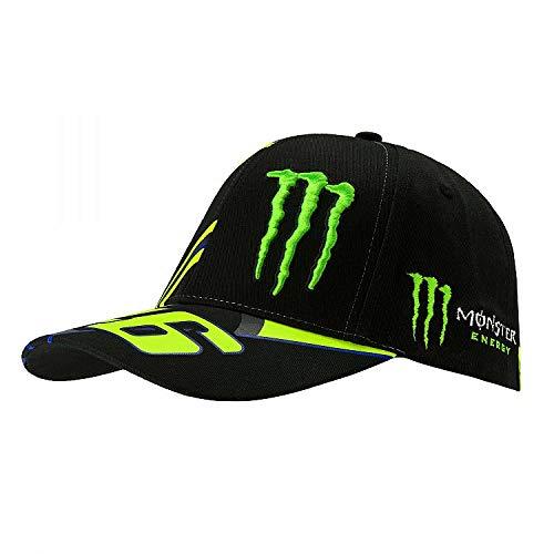 VR46 Valentino Rossi Monster Replica Cap, Schwarz
