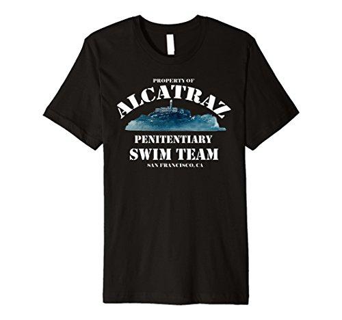 Alcatraz Swim Team Vintage T-shirt Club Alcatraz - Swim-team T-shirts
