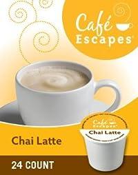 Green Mountain Café Escapes Chai Latte K-Cup