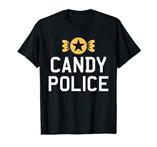 Candy Polizei Lustige Halloween Kostüm Mama Papa Geschenk