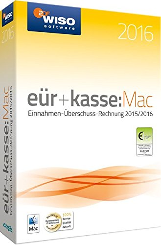 WISO eür & kasse:Mac 2016 Kasse Software