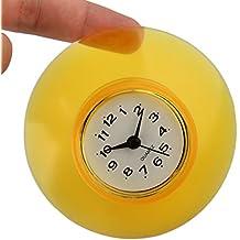 vicoki douche horloge rsistance leau de salle de bain mini rondeur de bain - Horloge Salle De Bain Ventouse