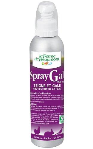 La Ferme De Beaumont - Spraygal 200 Ml Spray - Gale Des Pattes Poules