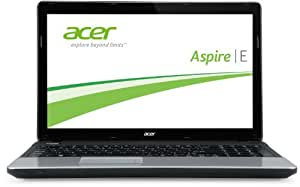 Acer Aspire E1-571G-32348G50Mnks 39,6 cm (15,6 Zoll) Notebook (Intel Core i3-2348M 2,3GHz, 8GB RAM, 500GB HDD, NVIDIA GeForce 710M, DVD, Win 8) schwarz