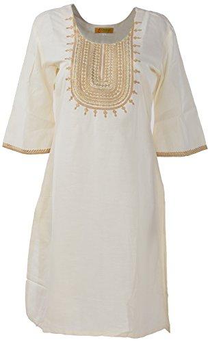Shree Liwas Women's Linen Cotton A-line Kurta