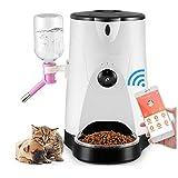 QZH Intelligente Pet Alimentatore A Distanza Fotocamera Cane Cat Catarifrangente Cat Cane Cibo Alimentazione Macchina Dispositivo Alimentatore Automatico per Animali